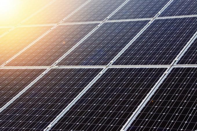Solaranlage zur Erfüllung des EWärmeGs